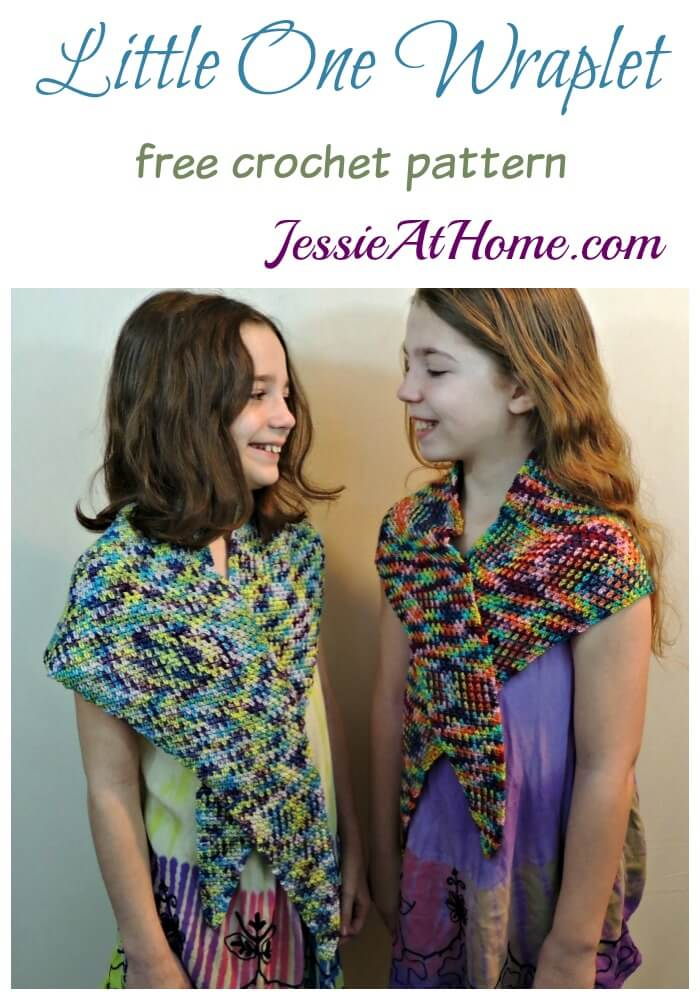 Little One Wraplet - free crochet pattern by Jessie At Home