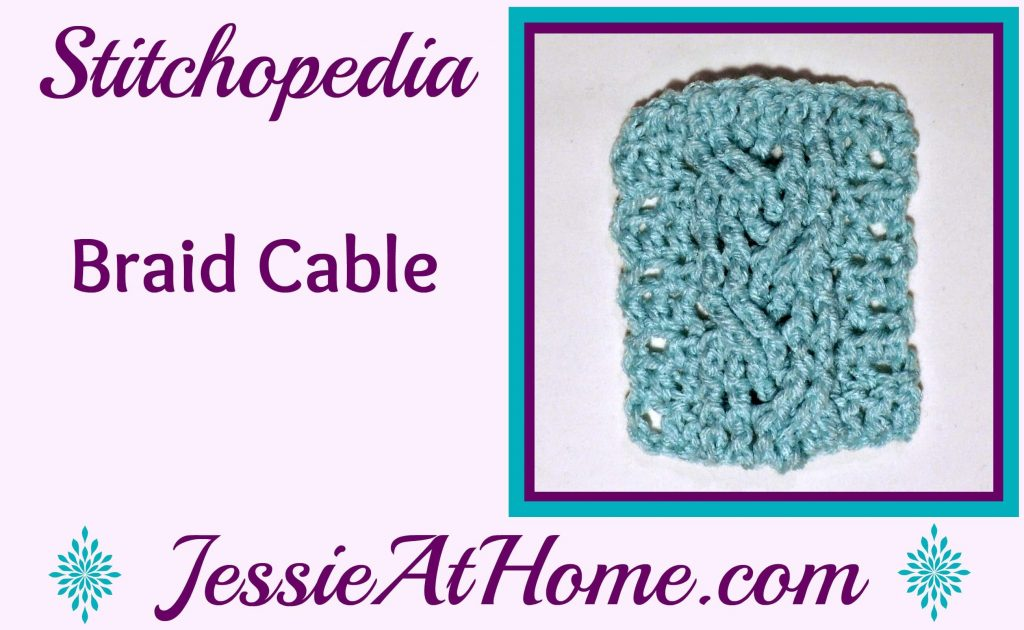 Stitchopedia Braid Cable from Jessie At Home - Cover