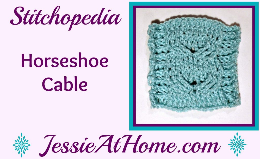 Stitchopedia Horseshoe Cable from Jessie At Home - cover