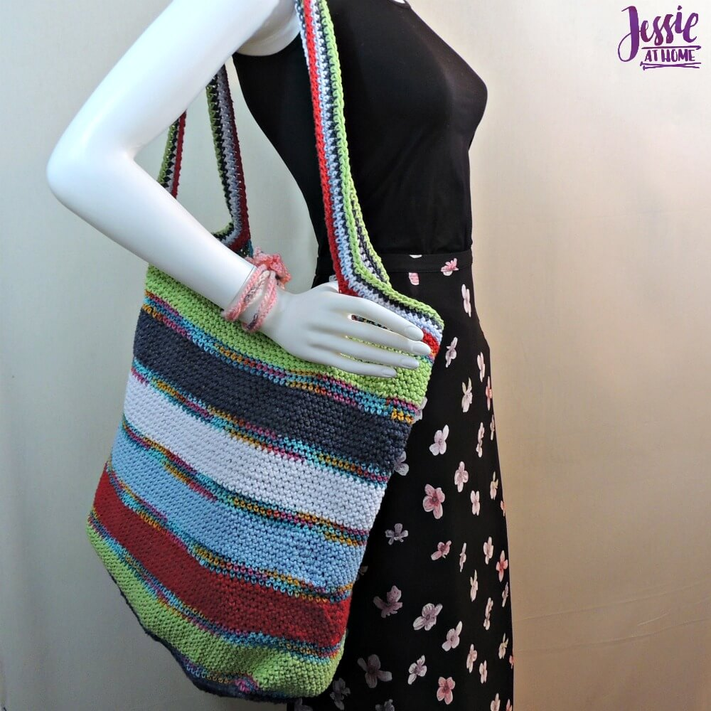 Yarnie Tote Bag - free crochet pattern by Jessie At Home - 1