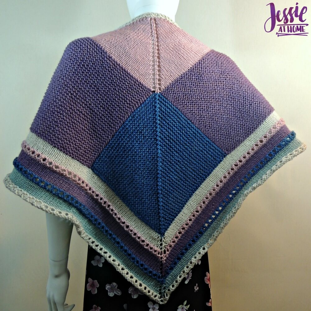 Triangle Squared - free knit pattern by Jessie At Home - 1
