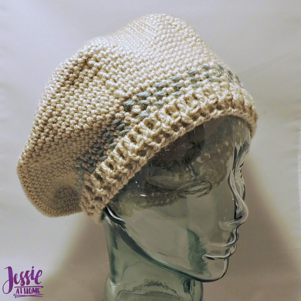 Snowflake Beret free crochet pattern by Jessie At Home - 1