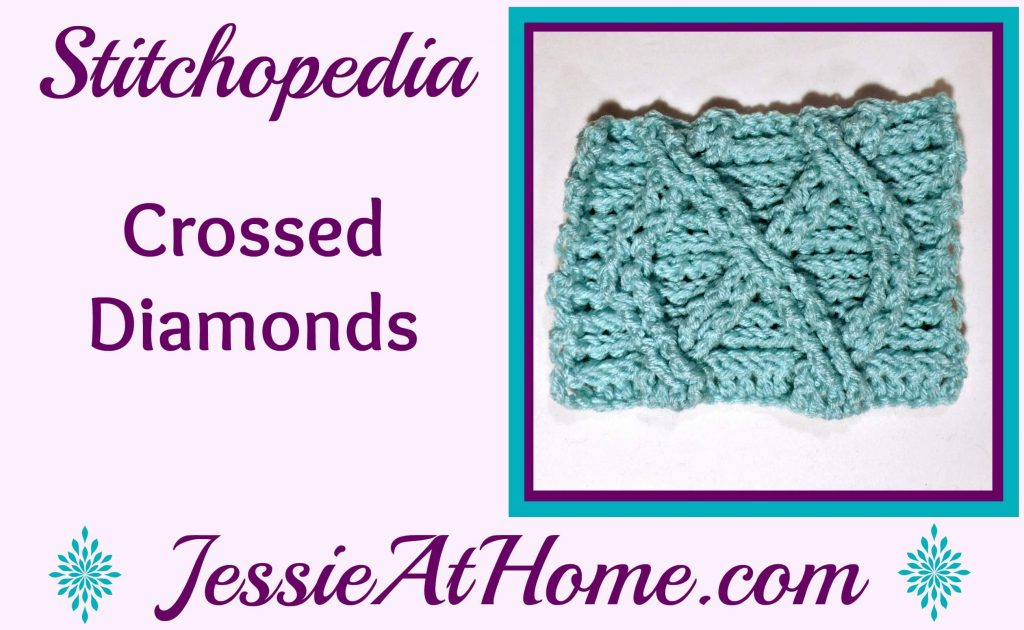 Stitchopedia Crossed Diamonds from Jessie At Home - cover