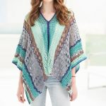 Clement Canyon Poncho Craftsy Crochet Kit
