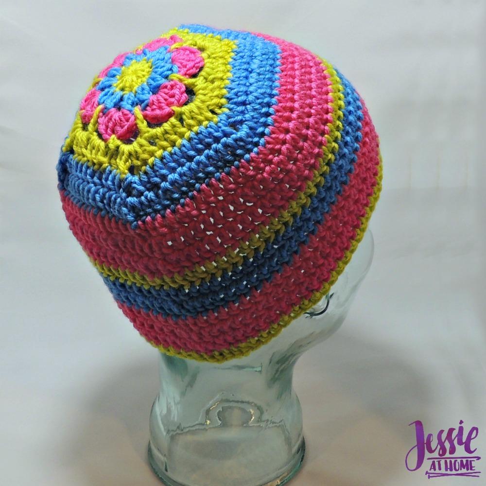 Flower Head Hat - free crochet pattern by Jessie At Home - 1