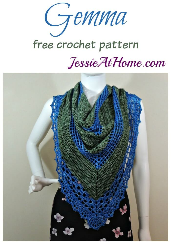 Gemma free crochet pattern by Jessie At Home