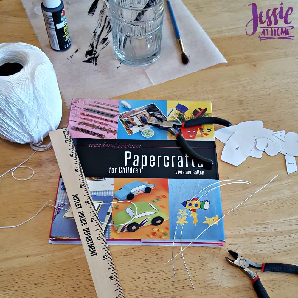 Papercrafts for Children - getting crafty