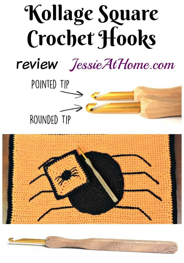 Kollage Square Crochet Hooks review from Jessie At Home