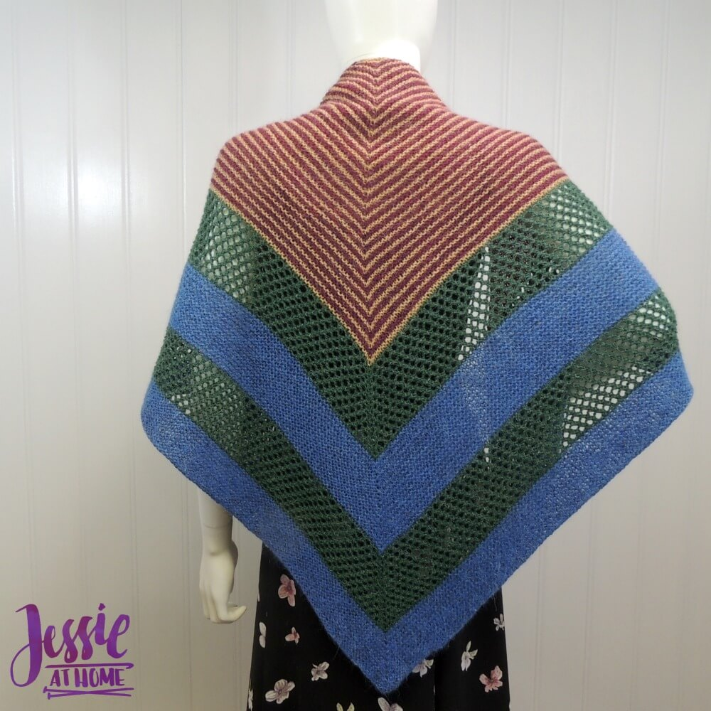 Woodland Wrap - free knit pattern by Jessie At Home - 1