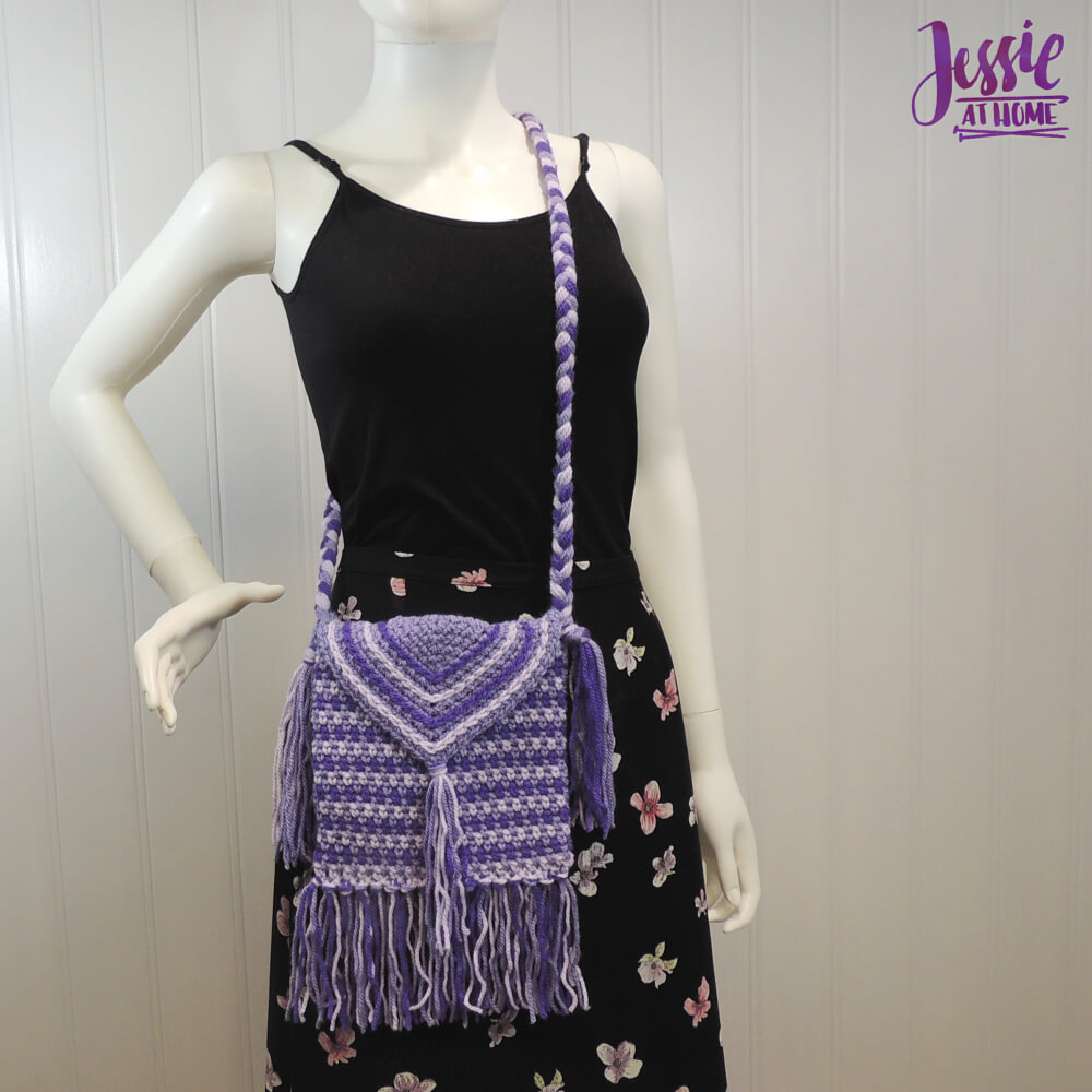 Purple Passion Purse free crochet pattern by Jessie At Home - 1