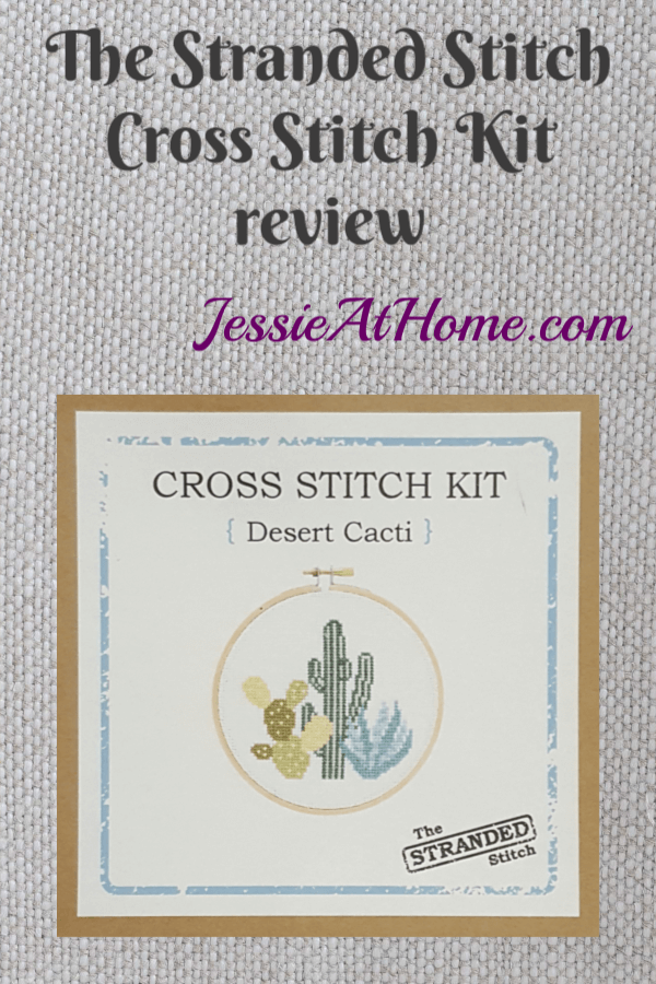 The Stranded Stitch Cross Stitch Kit review from Jessie At Home