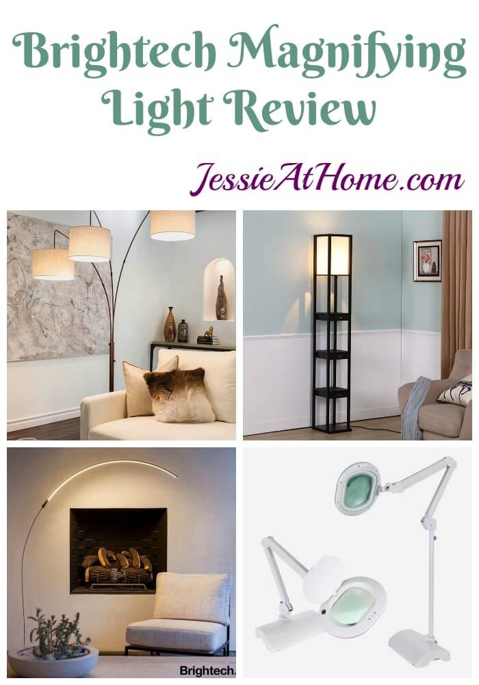 Brightech Magnifying Light Review from Jessie At Home