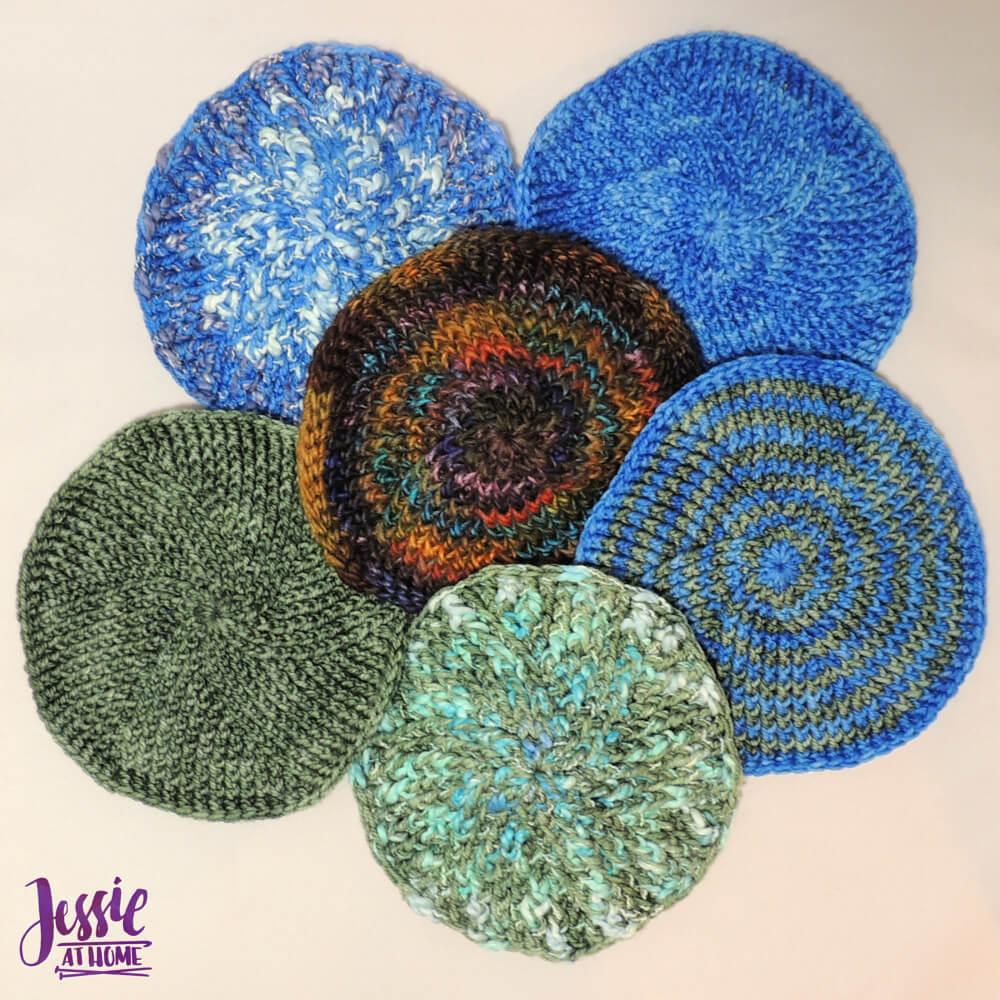 Six Post Yarmulke - free crochet pattern by Jessie At Home - 1