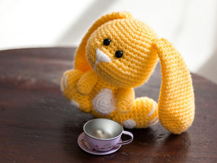 Sunshine Bunny Toy Craftsy Crochet Kit