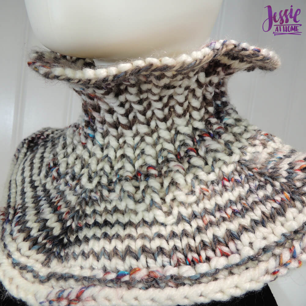 Claire's Cowl free knit pattern by Jessie At Home - 1
