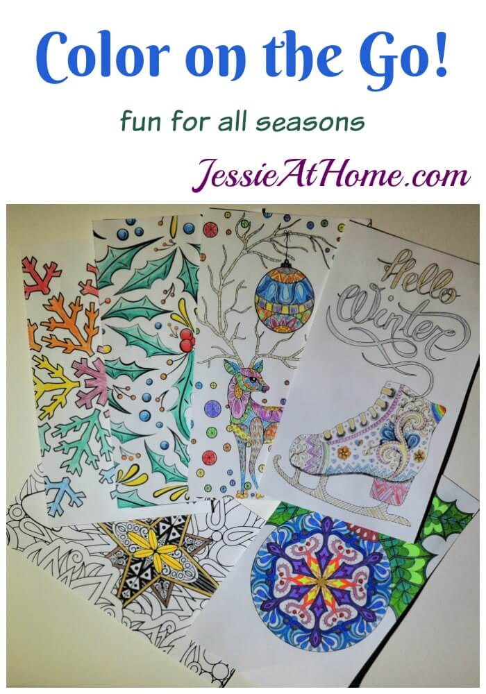 Color On The Go - fun for all seasons!