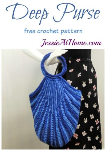 Deep Purse free crochet pattern by Jessie At Home