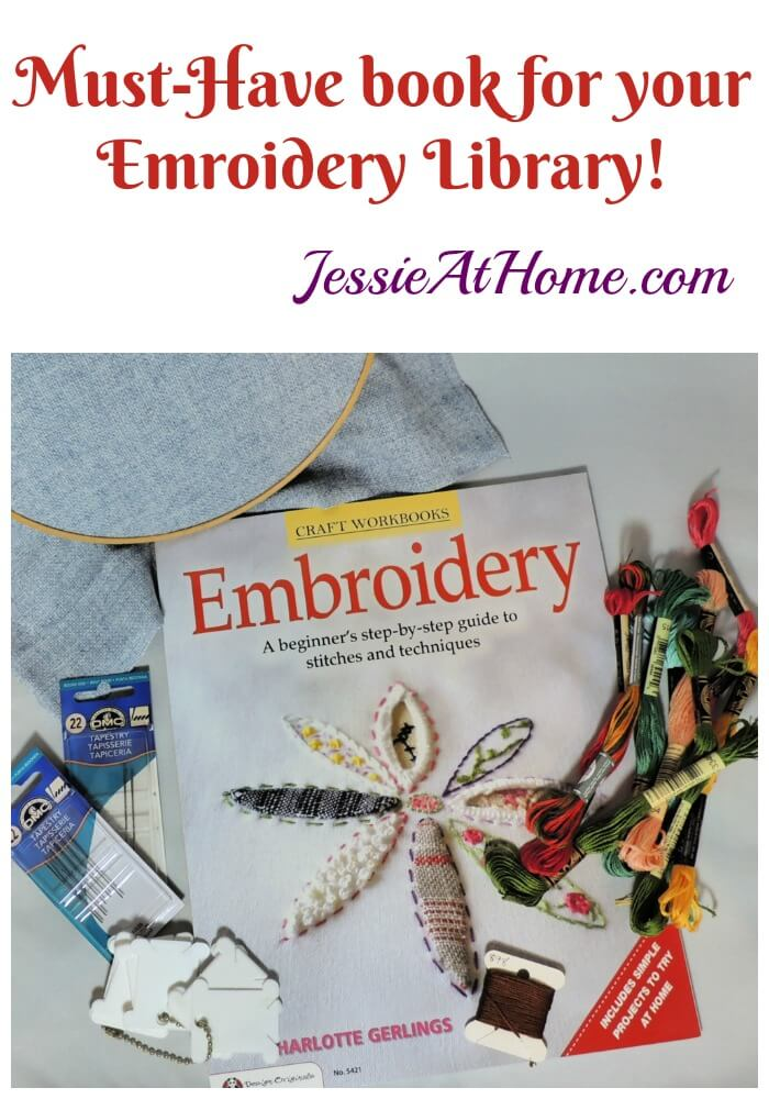 Embroidery: A Beginner\'s Step-by-Step Guide to Stitches and Techniques - a must-have for your embroidery or needlepoint library!