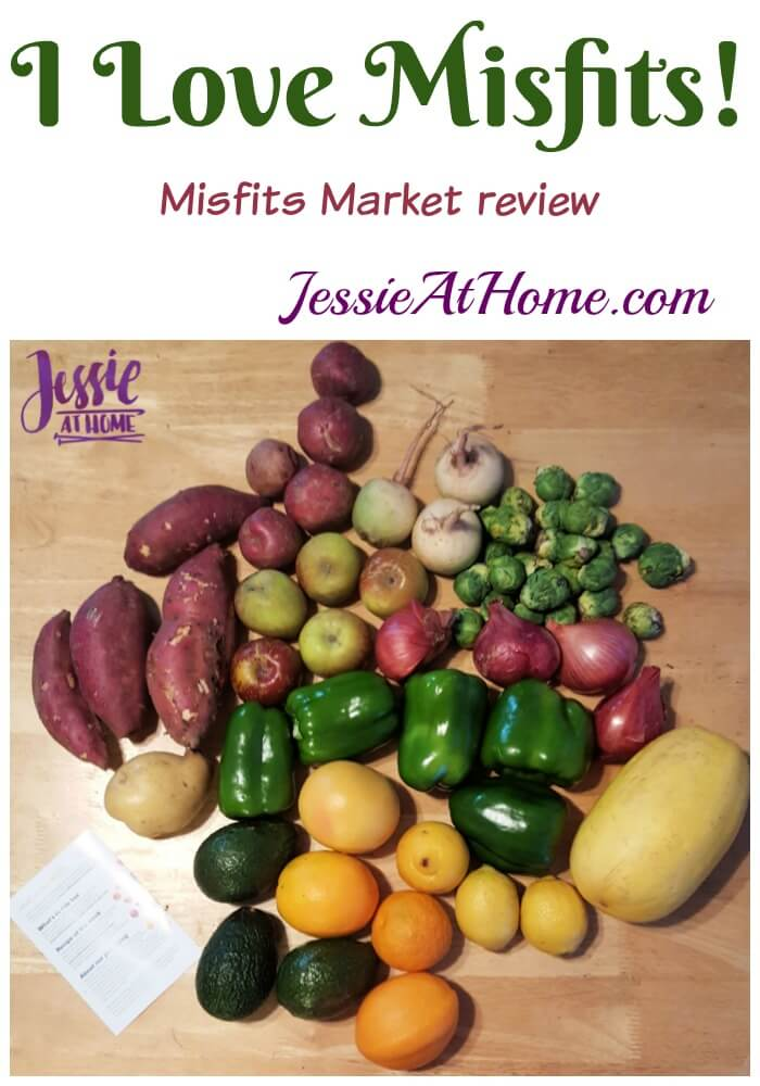 I Love Misfits - Misfits Market review from Jessie At Home
