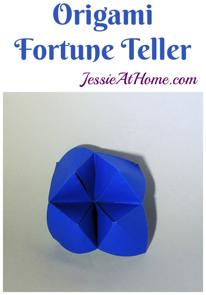 Origami Fortune Teller - bring out your inner child!