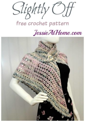 Slightly Off - free crochet pattern by Jessie At Home