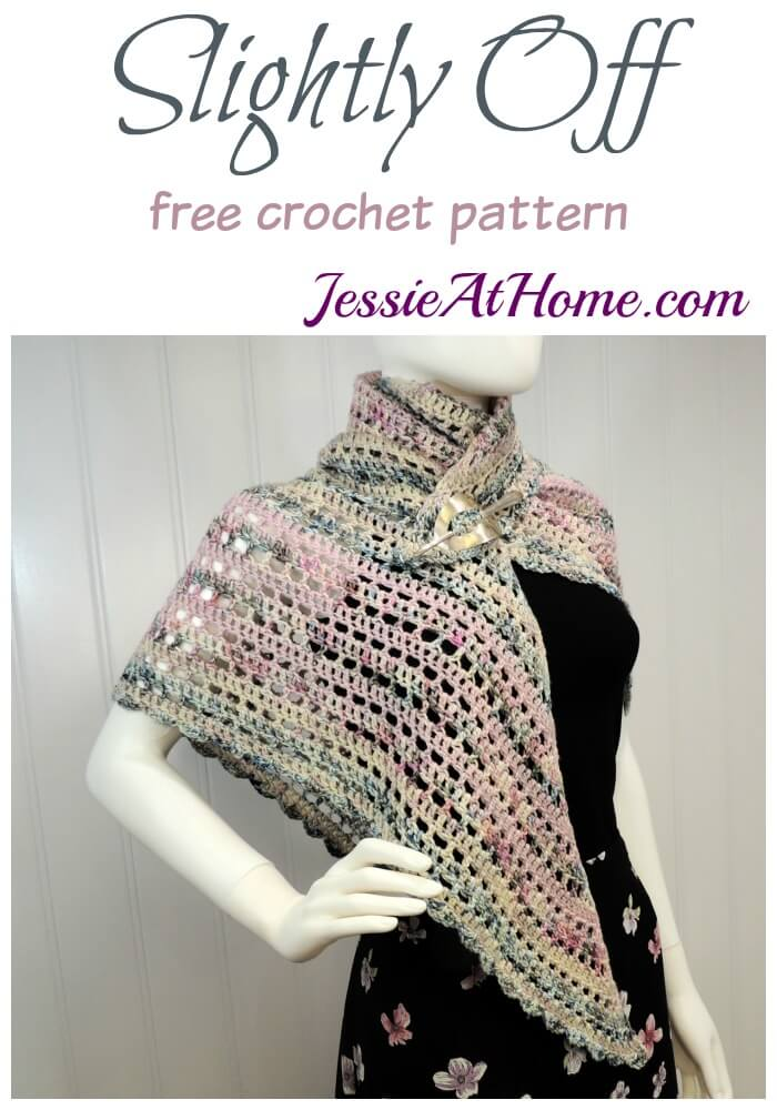 Slightly Off – this pattern is just like me!