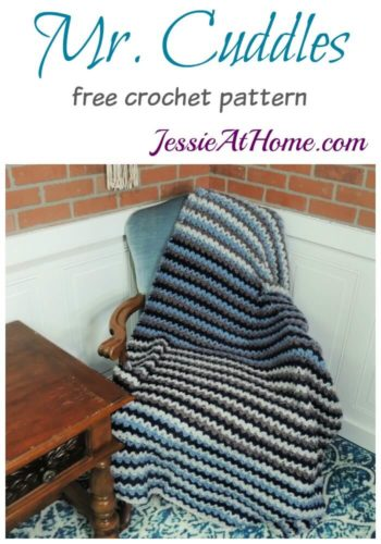 Mr Cuddles free crochet pattern by Jessie At Home