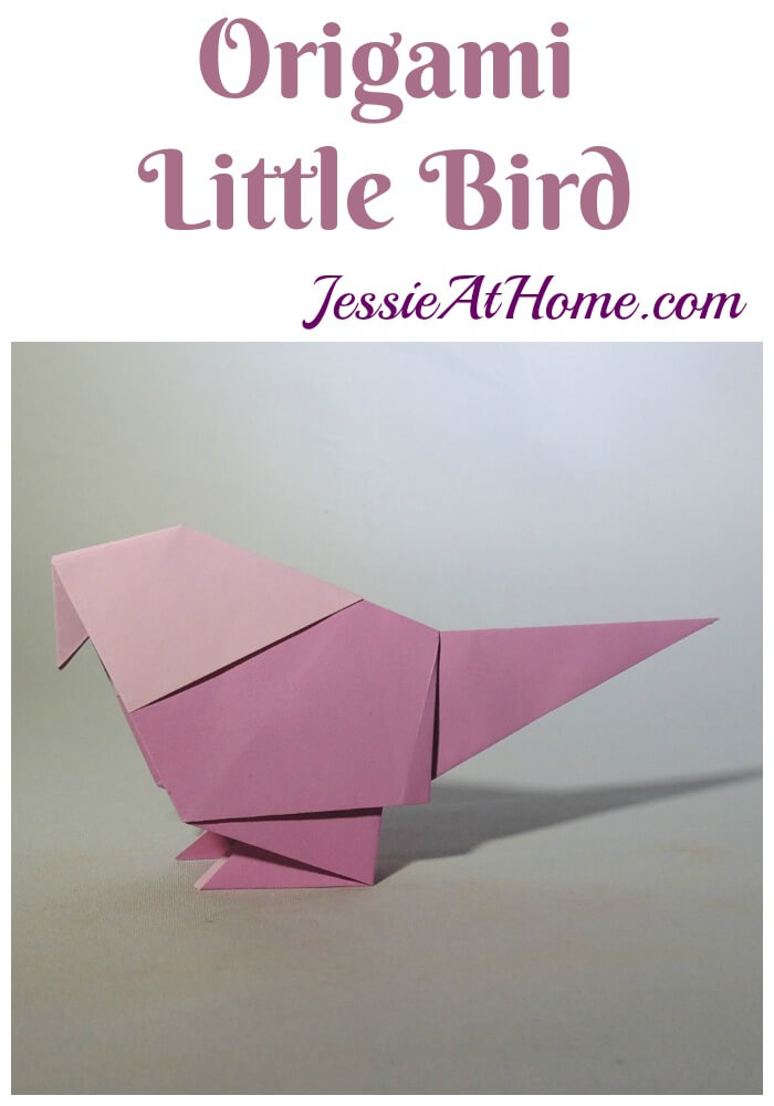 Origami Little Bird – try placing them in your houseplants