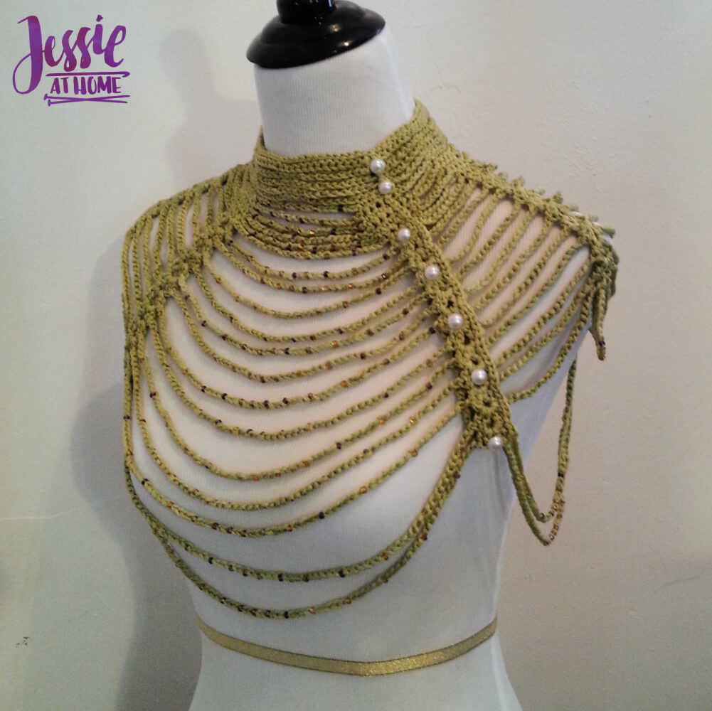 Waterfall Necklace free crochet pattern by Jessie At Home - 1