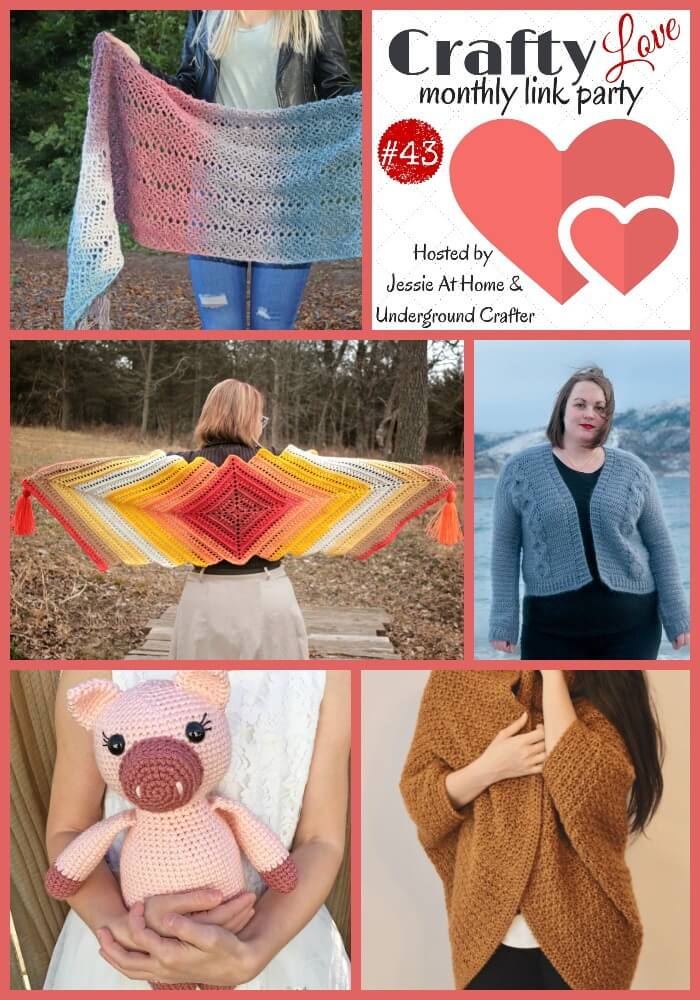 Crafty Love Link Party #43 – spring colors and more crafts!