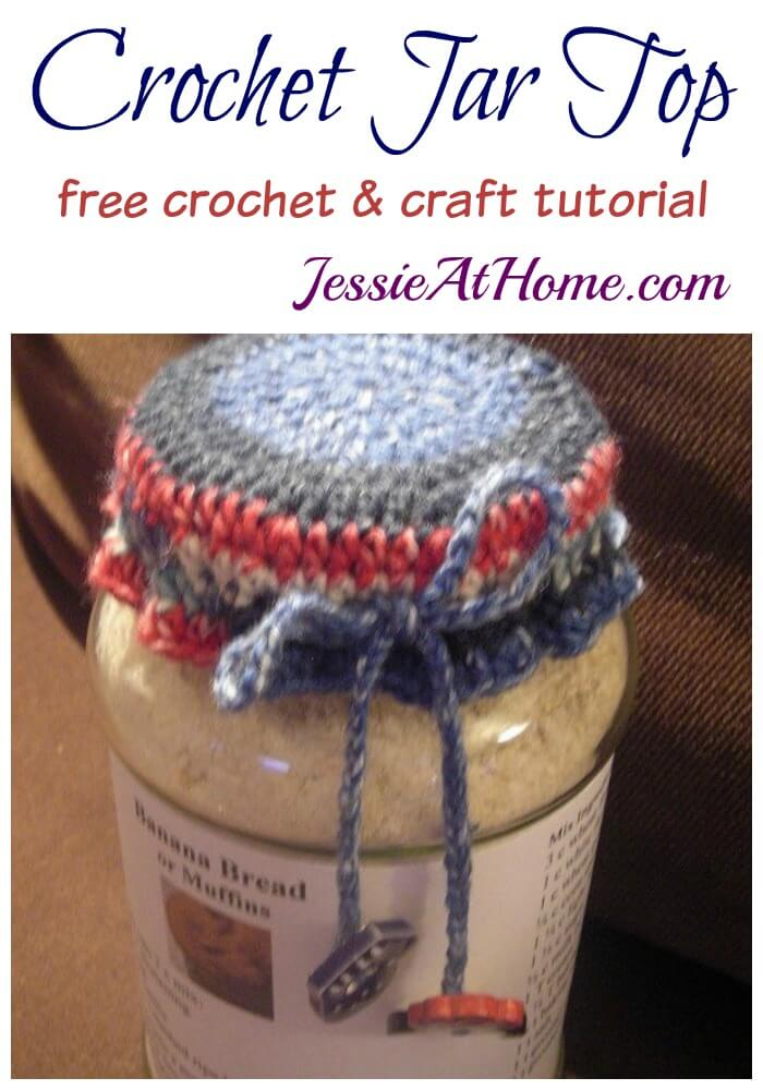 Crochet Jar Tops - great for gifts!