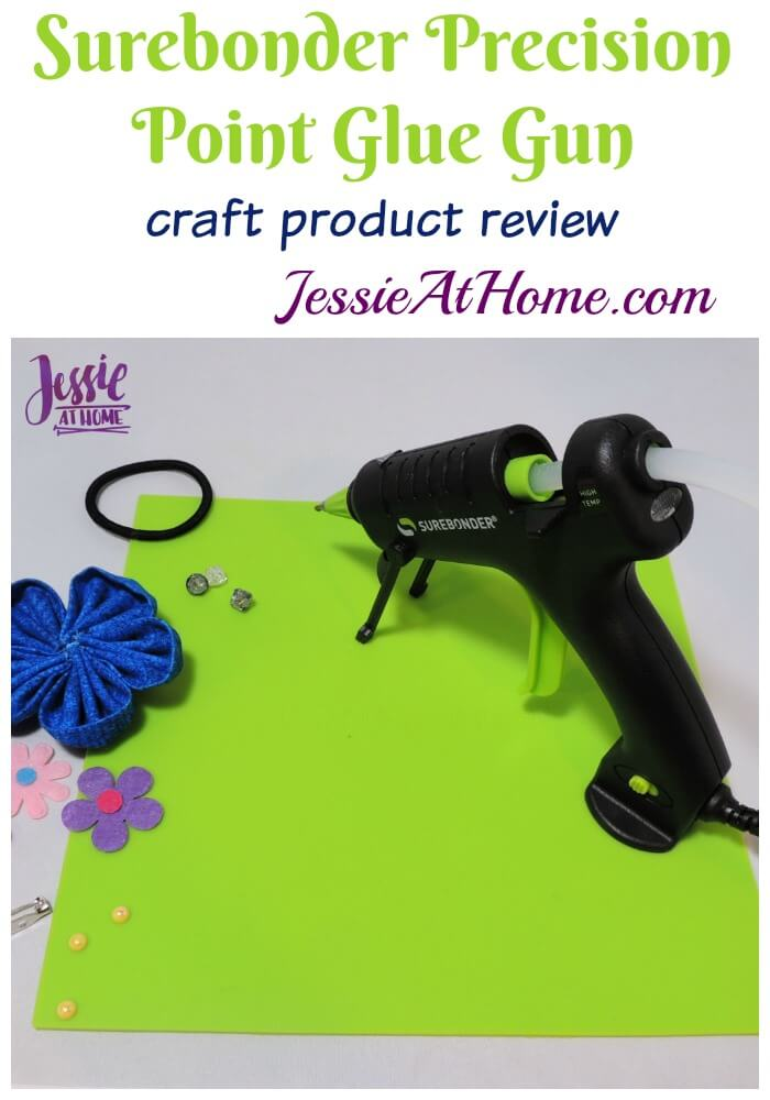 Surebonder Precision Point Glue Gun craft product review from Jessie At Home