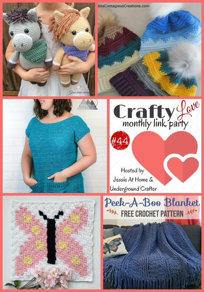 Crafty Love Link Party #44 - here come the spring colors!
