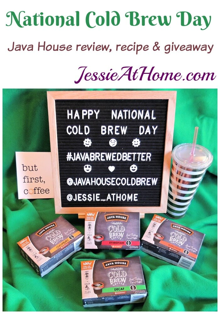 National Cold Brew Day Review, Recipe & Giveaway!