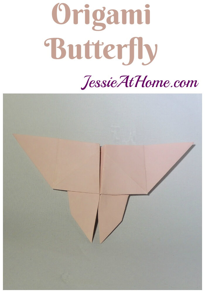 Origami Butterfly – These would make a great addition to a hand made mobile!