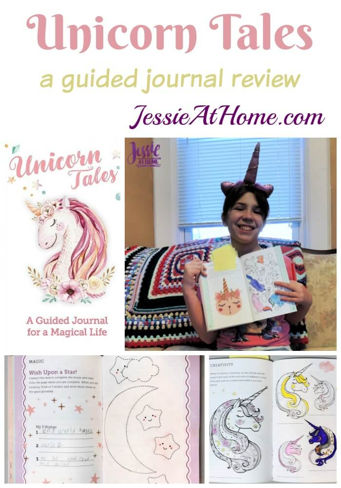Unicorn Tales - a guided journal review from Jessie At Home