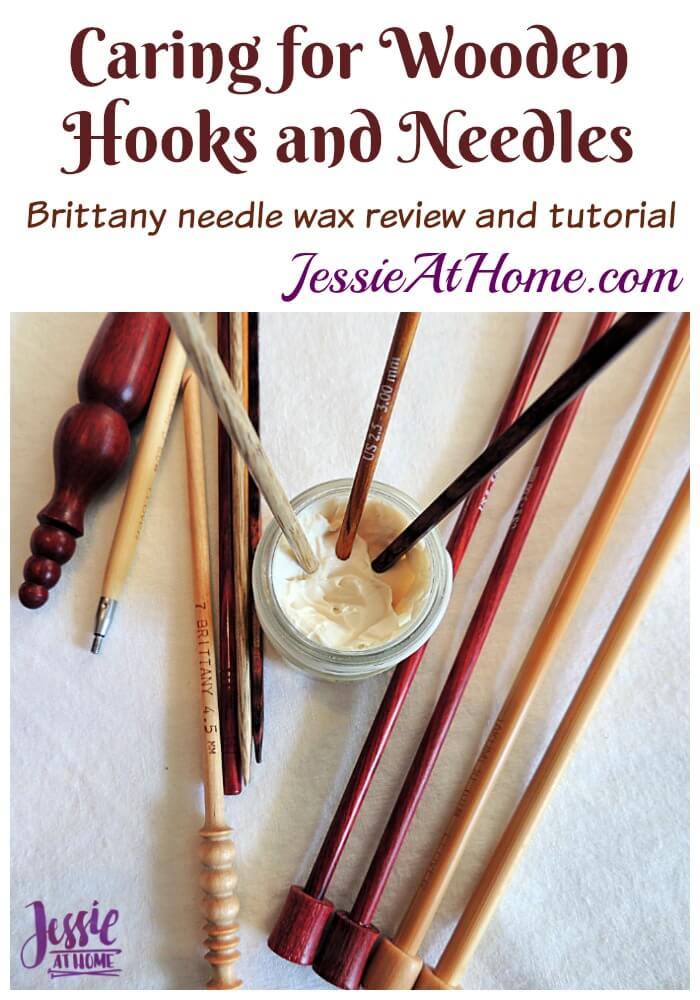Caring for Wooden Crochet Hooks and Knitting Needles