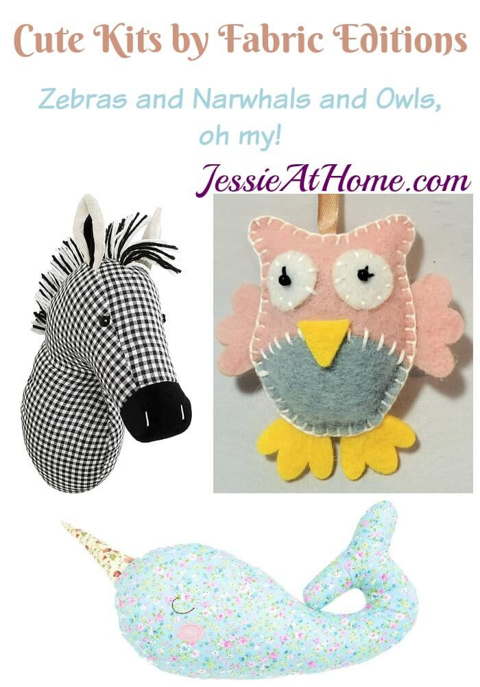 Cute Kits by Fabric Editions - review from Jessie At Home