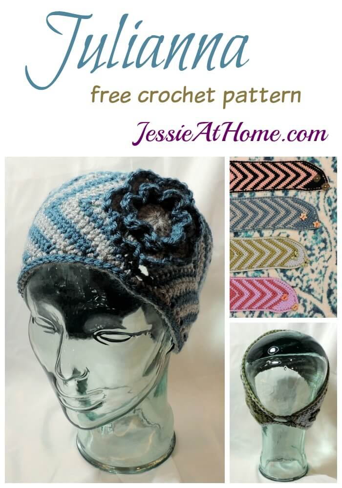 Julianna - Free Crochet Ear Warmer Pattern