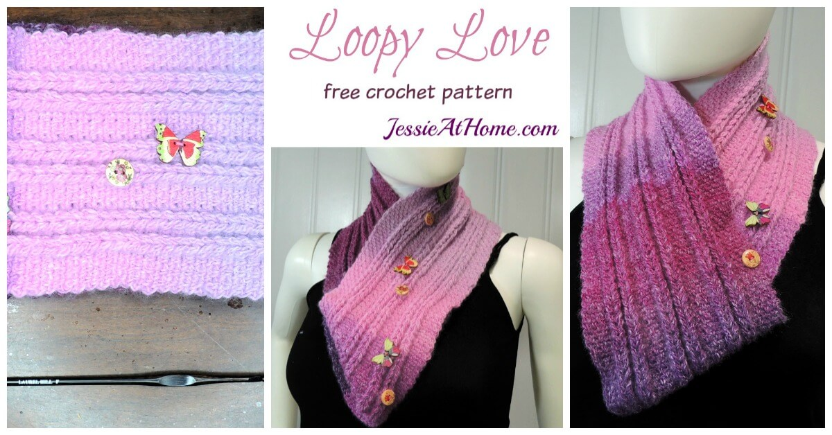 Loopy Love A Free Jacob S Ladder Crochet Pattern You