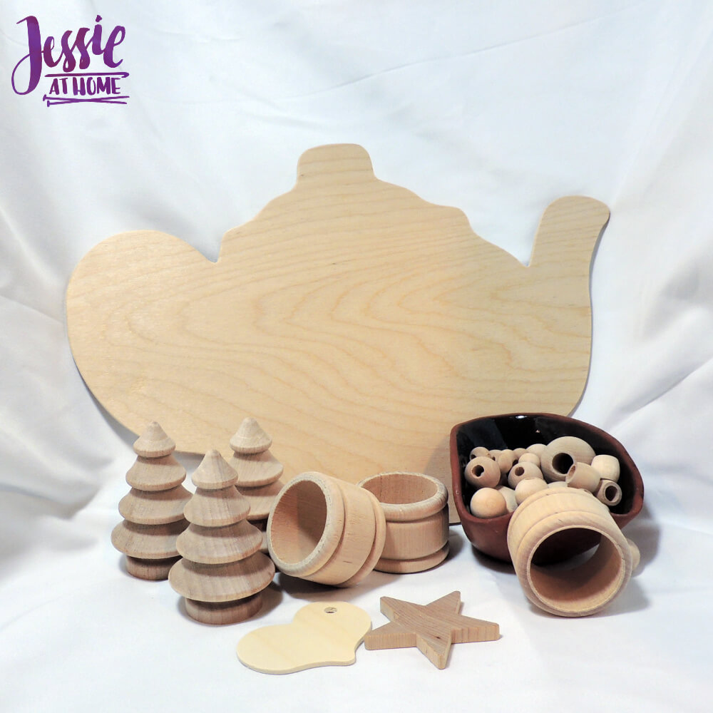 Wood Craft Supplies from Woodpecker Crafts review by Jessie At Home - so much awesomeness
