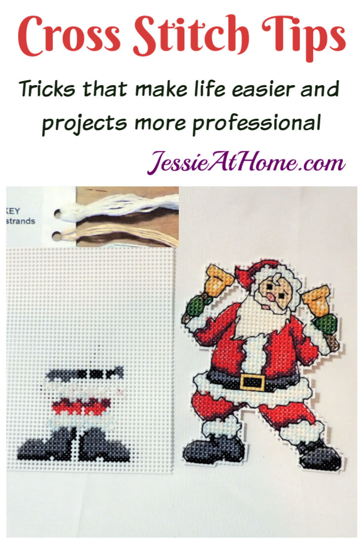 Cross Stitch Tips and Tricks - Make life easier and projects more professional!
