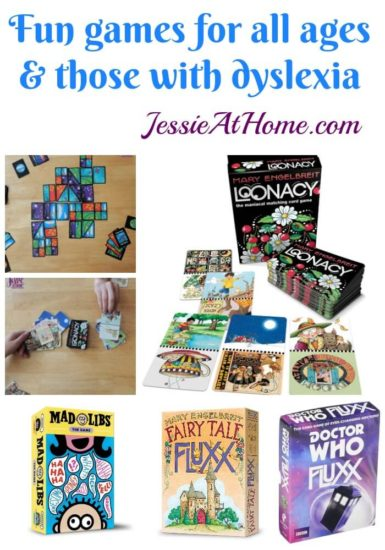 Family games for kids with dyslexia and everyone else - Jessie At Home