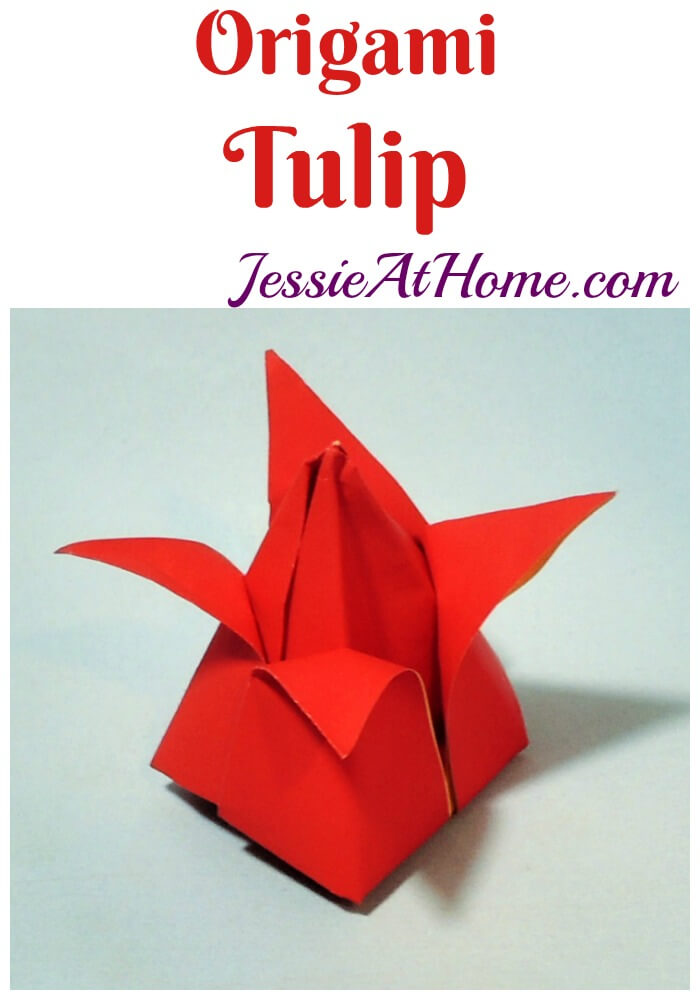 Origami Tulip - so many ways to brighten up your day!