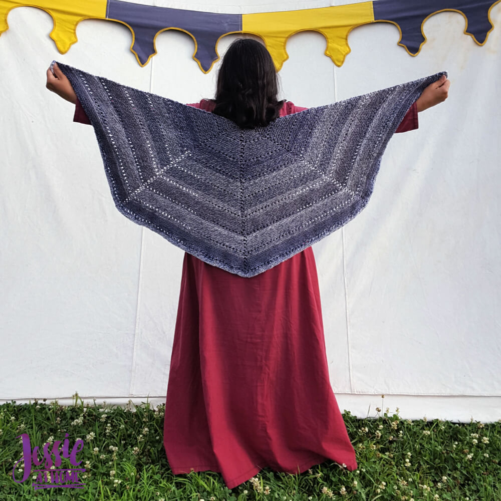Eyelet Row Knitting Pattern - Connect the Dots by Jessie At Home - 1