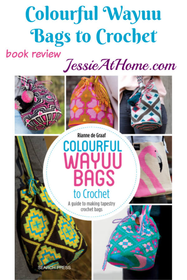 Tapestry Crochet Bags -Colourful Wayuu Bags to Crochet
