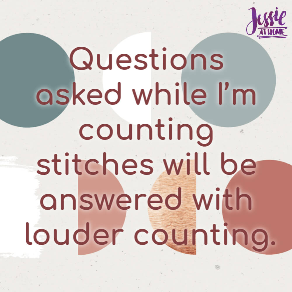 Counting Stitches - Silly Saturday