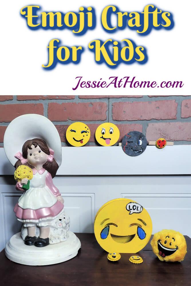 DIY Emoji Crafts for Kids - September Orange Art Box Projects