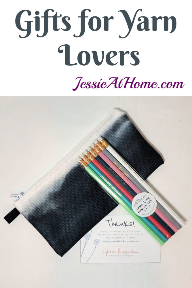 Gifts for Yarn Lovers - Totes, Journals, Pencils, and more!