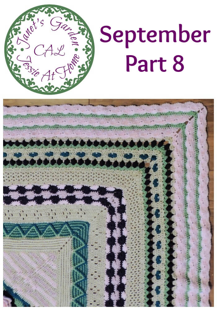 Wavy Crochet Fun - Janet\'s Garden CAL September